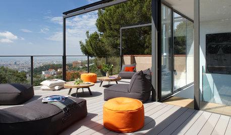 Casas Houzz: El chalé de un diseñador con vistas a Barcelona