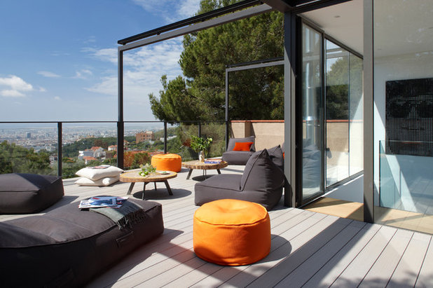 Contemporáneo Balcones by MOLINS DESIGN