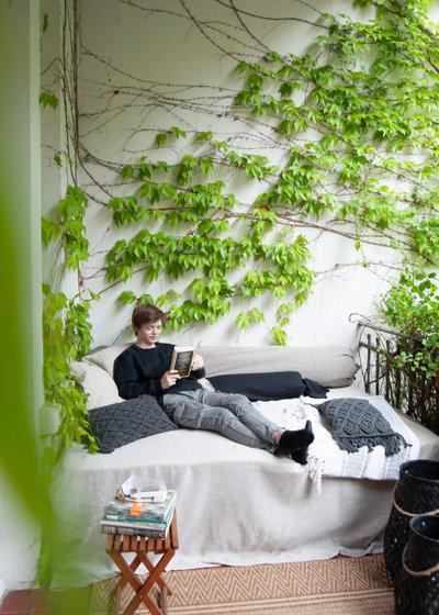 ビーチスタイル ベランダ・バルコニー by eggergärten