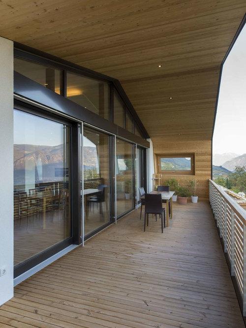 Foto e Idee per Terrazze e Balconi - terrazze e balconi moderni con ...