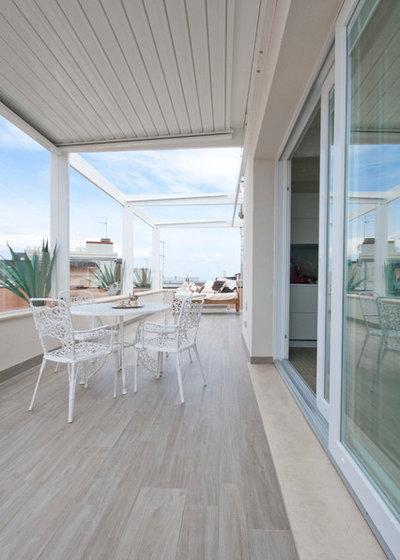 Contemporaneo Balcone by Studio Interior Designer Pierpaolo Saioni