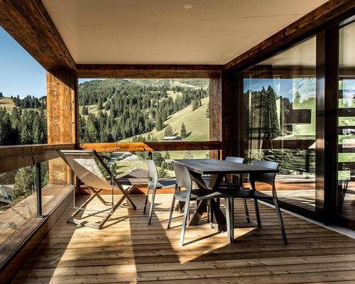 Ringhiera esterna in legno - Foto e idee | Houzz