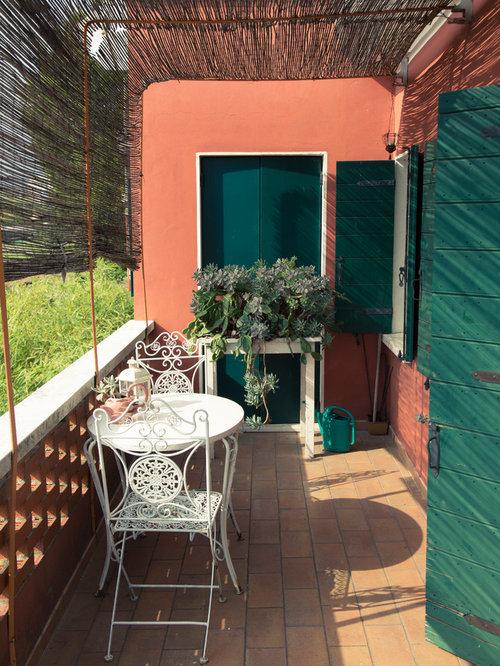 Landhausstil Terrasse mit Pergola - Ideen für die ...