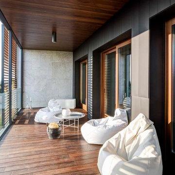 Interior with garden