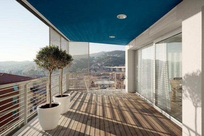 Contemporaneo Balcone by ariu+vallino architetti associati
