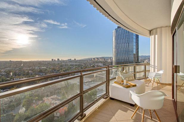 Современный Балкон и лоджия by MDG ESTATES