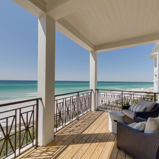 Beach Style Deck by Emerald Coast Real Estate Photography