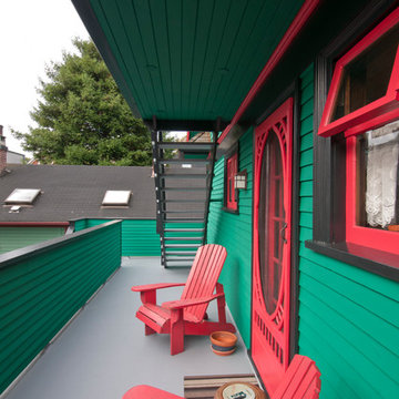 A Licorice House - Vancouver Painted Lady