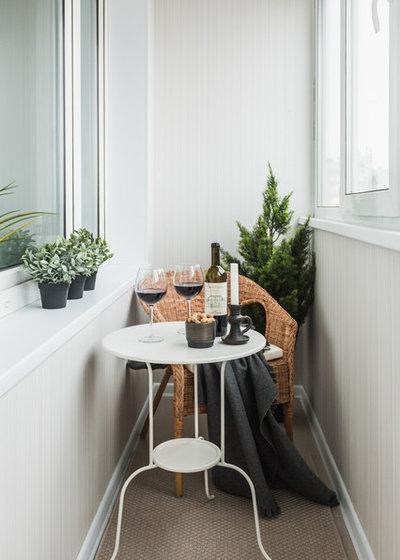 Scandinavian Sunroom by Anna Kovalchenko Interiors