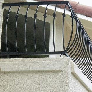 Balcony - craftsman balcony idea in Orange County