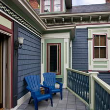 Eclectic Porch by Sonya Highfield Photography