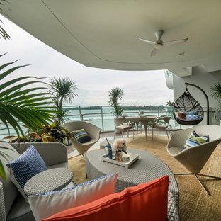 Beach Style Balcony