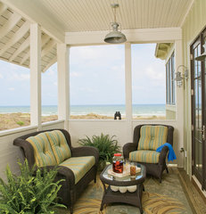 traditional porch by Dungan Nequette Architects