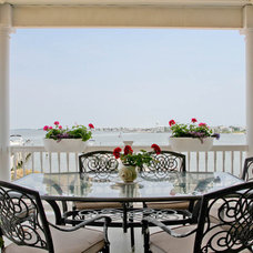 Beach Style Porch by Rikki Snyder