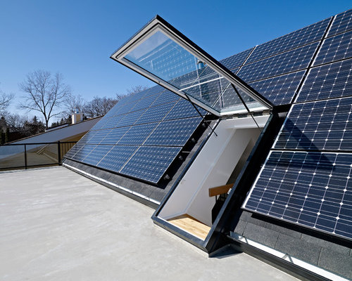 Solar Panel Roof Home Design Ideas Pictures Remodel And