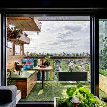 Bohemian living space in Greenwich