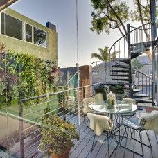 Modern Porch Boiler Residence