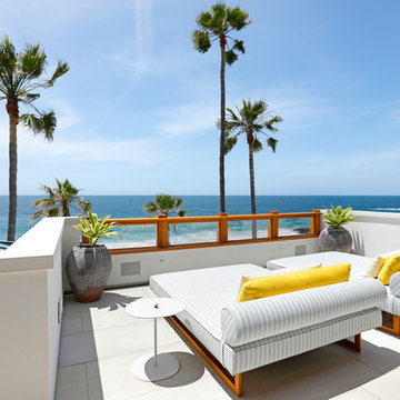California Coastal, Mid-Century Modern Home Build in Laguna