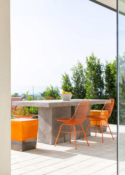 Modern Balkon by Blackband Design