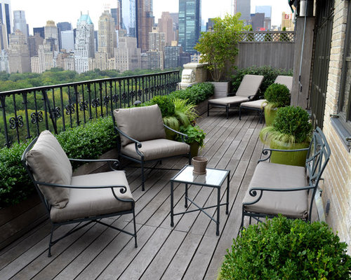 traditional balcony design ideas, remodels & photos