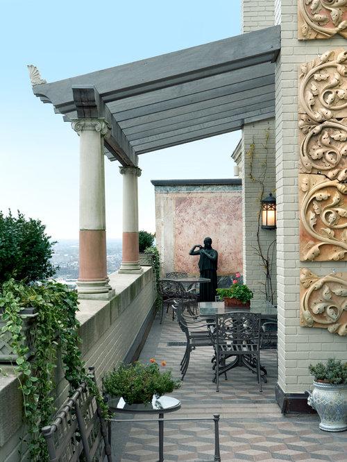 Mediterranean balcony design ideas remodels photos with for Mediterranean balcony ideas