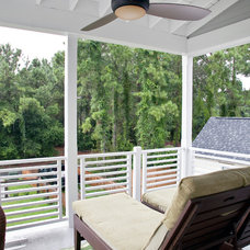 Contemporary Deck by Riverside Designers