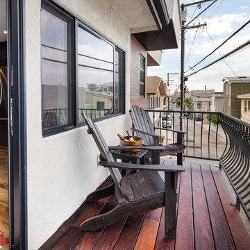 Contemporary Townhouse Remodel in Hermosa Beach, CA.