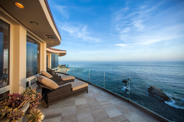 Contemporary Balcony by Brion Jeannette Architecture