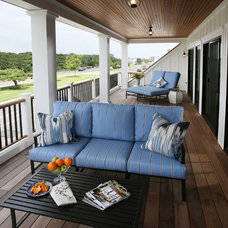 Beach Style Porch by Asher Associates Architects