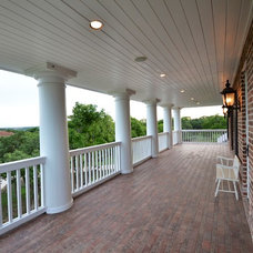 Traditional Porch by A-Design By Gustavo Arredondo, Inc.