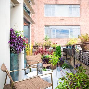 Idéer för att renovera en liten funkis balkong