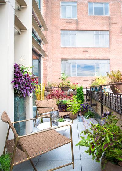 Modern Balkon by ae design