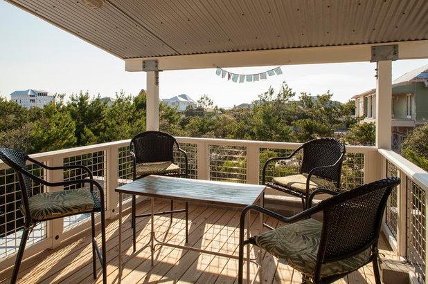 Industrial Balcony by Greene Design LLC