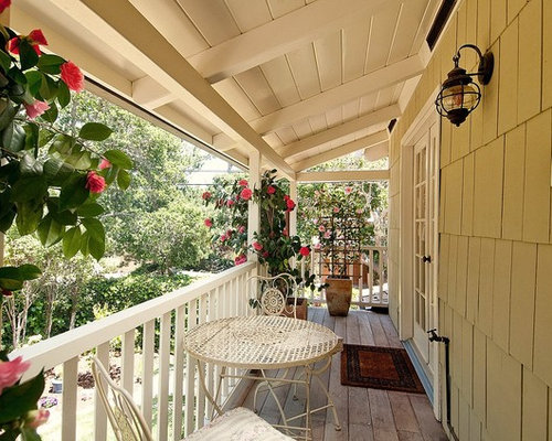 Narrow porch home design ideas pictures remodel and decor - Narrow porch decorating ideas ...