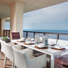 Contemporary Porch by DKOR Interiors Inc.- Interior Designers Miami, FL