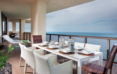 Houzz Tour: Sun-Washed Sophistication for a Miami Apartment