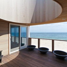 Beach Style Porch by Resolution: 4 Architecture