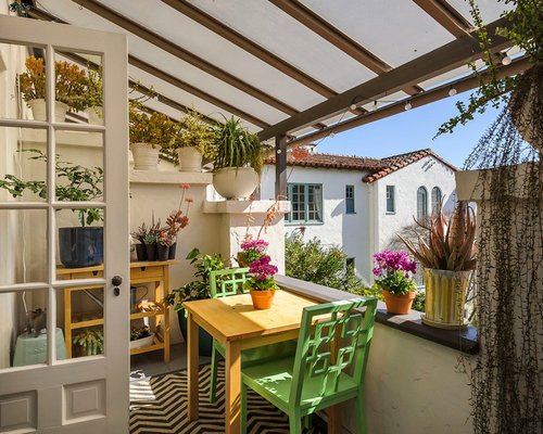 Outdoor balcony ideas pictures remodel and decor - Houses with covered balconies ...