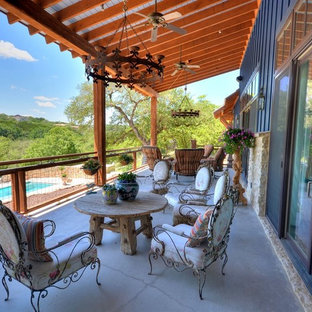 Eclectic Farmhouse by John Siemering Homes Austin TX