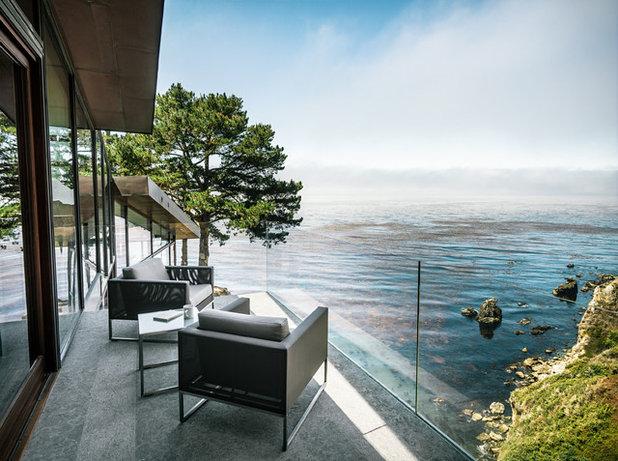 Contemporary Balcony by Fougeron Architecture FAIA