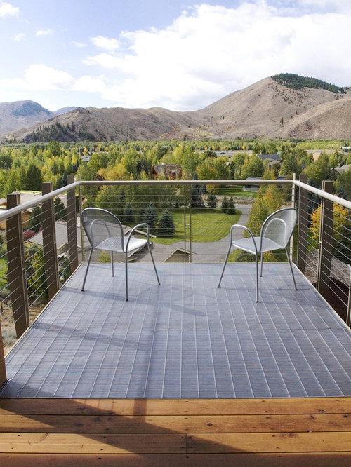 Inspiration For A Modern Balcony Remodel In Boise