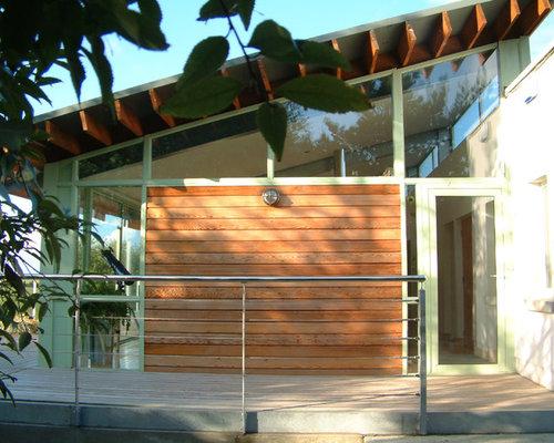 Houzz   Limerick Facade Villa Moderne Home Design Design Ideas ...