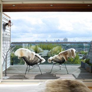 Farmhouse balcony in London.