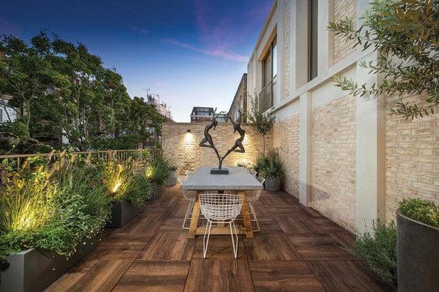 Contemporain Balcon by Light House Designs Ltd