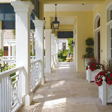Traditional Porch by London Bay Homes