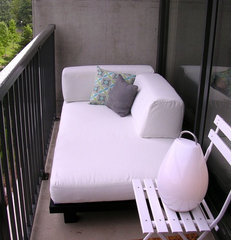 modern porch Lucas's Outdoor Day Bed