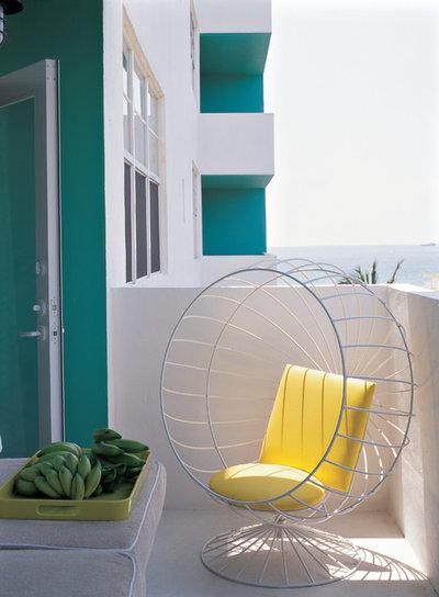 Contemporary Balcony by Pierce Allen