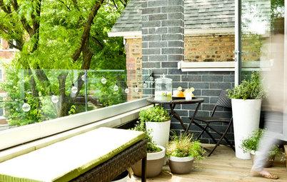 Förvandla din balkong till en grön oas