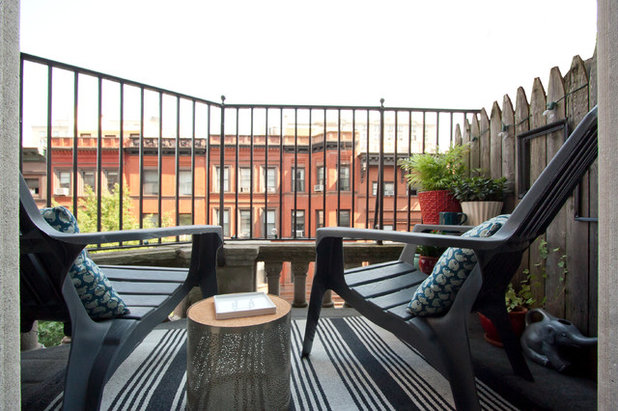 Eclectic Balcony by Chris A Dorsey Photography