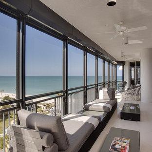 Diseño de balcones exótico en anexo de casas